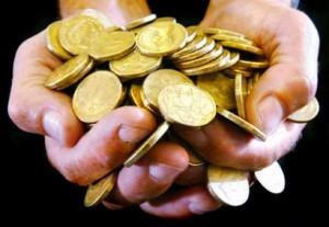 comprar e vender moedas de ouro