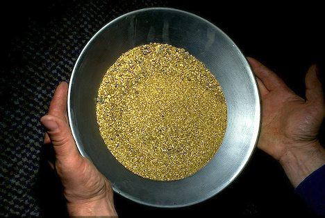 como vender ouro em pó