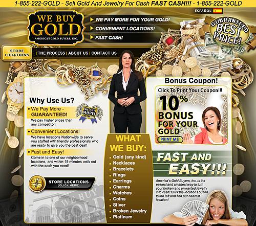 Como vender ouro online