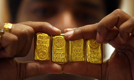 como vender barras de ouro